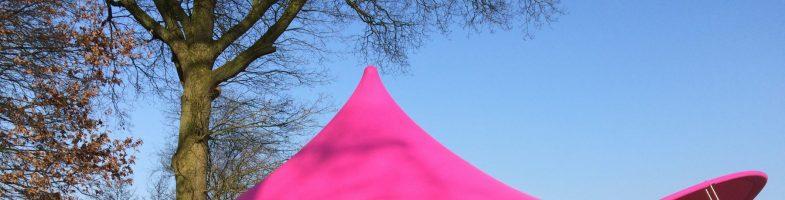 Wij willen een mooie stretch tent kopen